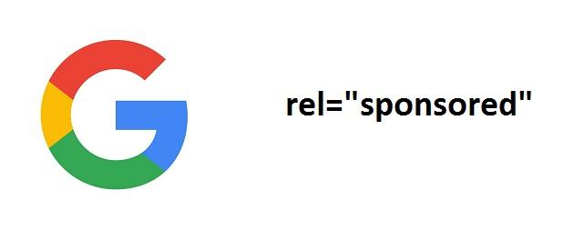 атрибут sponsored от google